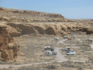 Chaco Canyon Campground