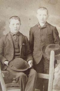 Photo of two boys