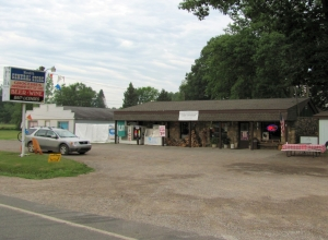County store at corner of M-18 and Meredith Grade Rd.