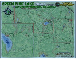Green Pine Trail Map