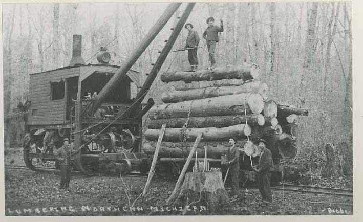 Logging Trains Reins And Shantyboys