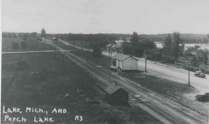 Lake Station in 1930s